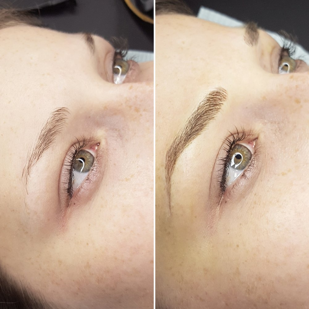 Microblading sourcil phibrows